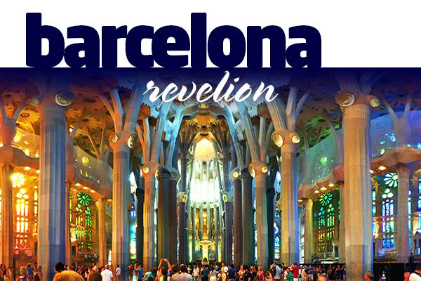 BARCELONA - REVELION 2019 Hotel 4 Stele