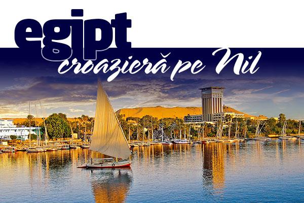PASTE 2019 EGIPT-CROAZIERA PE NIL! - Plecare din Bucuresti